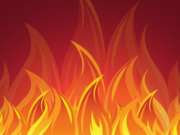 Fire Background Design 1189 229